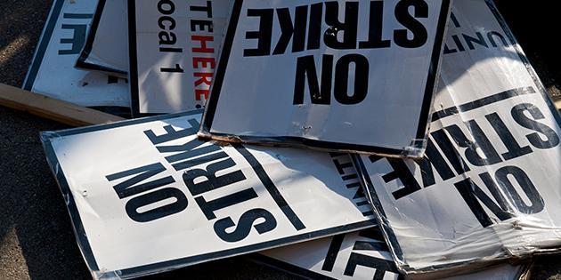 Quot Professors Strike At 14 Pennsylvania State Universities
