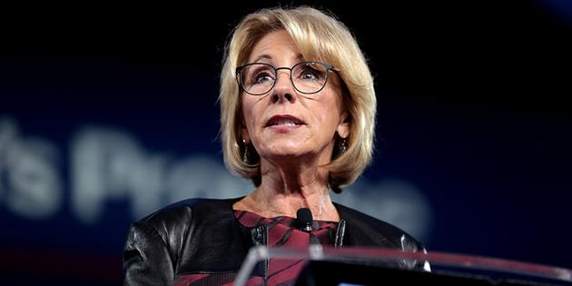 Betsy DeVos' 6Month Report Card: More Undoing Than Doing  HigherEdJobs