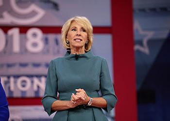 Devos And Tax Credit Vouchers Arizona >> Devos To Pitch Federal Tax Credit For Educational Freedom