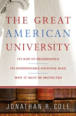 Book Cover - The Great American University