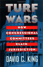 Book Cover - Turf Wars: How Congressional Committees Claim Jurisdiction