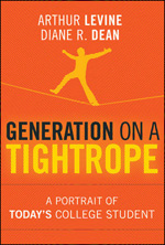 Book Cover - Generation on a Tightrope